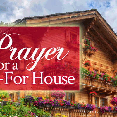Prayer for a Paid-For House | by Jamie Rohrbaugh | FromHisPresence.com