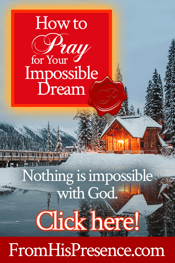How to Pray for Your Impossible Dream | by Jamie Rohrbaugh | FromHisPresence.com