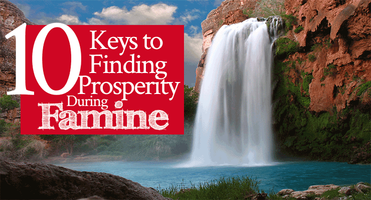 10 Keys to Finding Prosperity During Famine | by Jamie Rohrbaugh | Bible study from Genesis 26 about Isaac | FromHisPresence.com