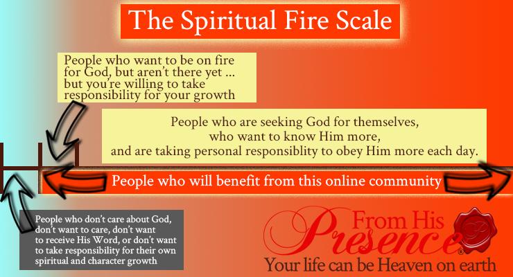 The Spiritual Fire Scale | FromHisPresence.com | Jamie Rohrbaugh