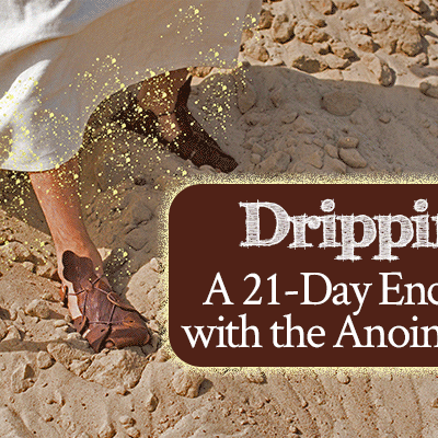 Dripping: A 21-Day Encounter with the Anointed One | by Jamie Rohrbaugh | Free prayer and fasting guide | FromHisPresence.com