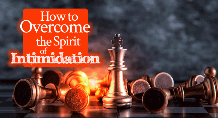 How to Overcome the Spirit of Intimidation   Prophetic word by Jamie Rohrbaugh   FromHisPresence.com