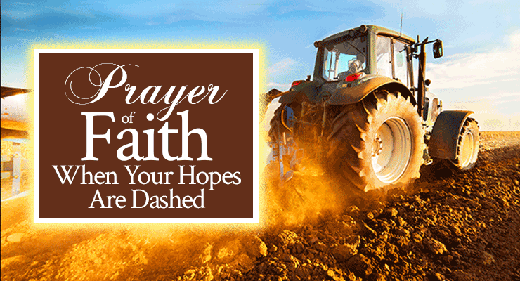 Prayer of Faith When Your Hopes Are Dashed | by Jamie Rohrbaugh | FromHisPresence.com